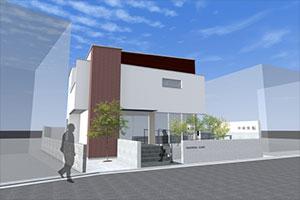 新中村医院 完成予想図 平成28年3月1日開院予定
